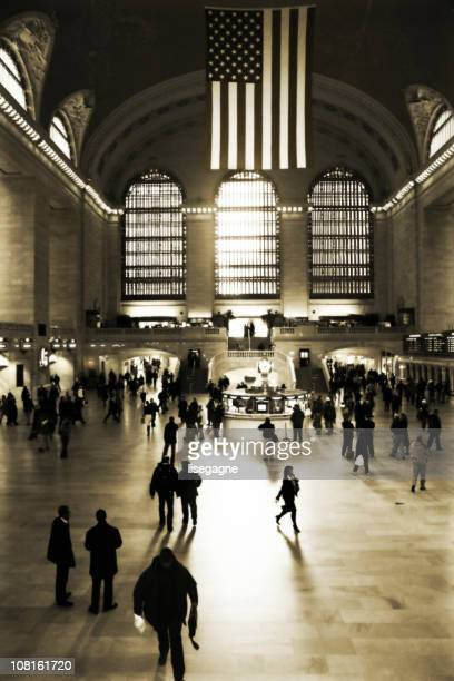 Crowd in Grand Central Terminal