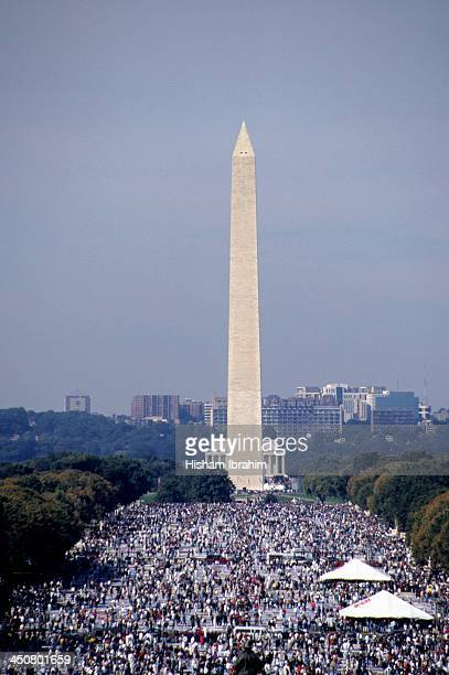 Crowd in the National Mall, Washington