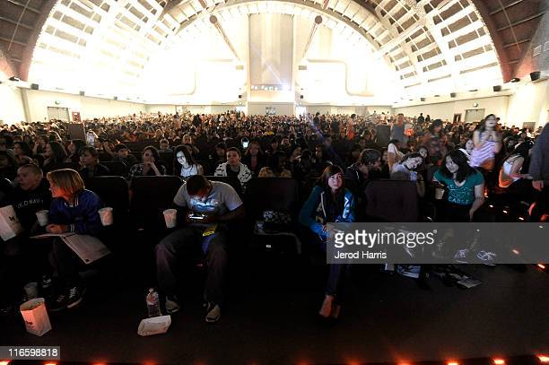 A crowd of 1500 Marines and their families packed the Bob Hope Theater at Marine Corps Air Station Miramar to see an advanced screening of Green...