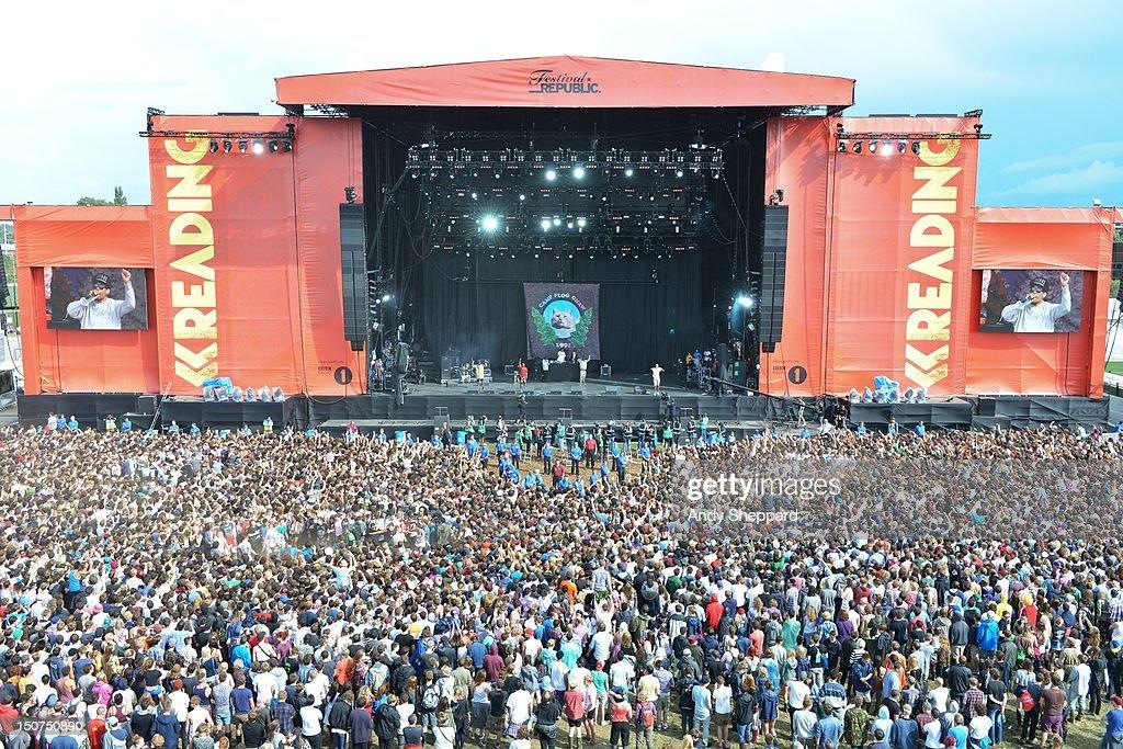 Reading Festival 2012 - Day 2 : ニュース写真
