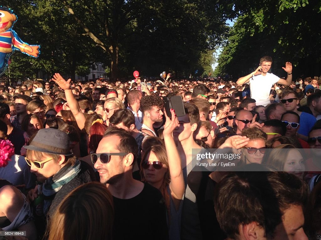Crowd Of People : Stock Photo