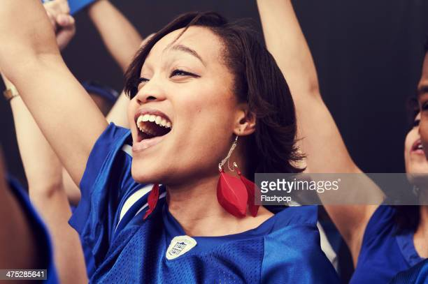 crowd of sports fans cheering - olympic games stock pictures, royalty-free photos & images