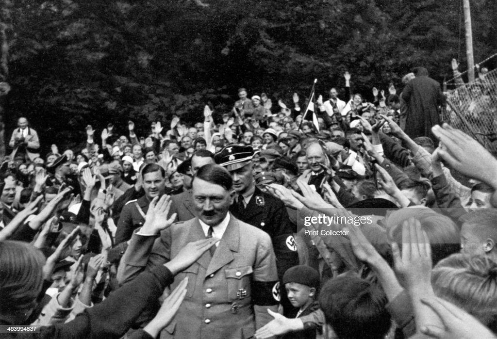 Image result for German hitler crowds