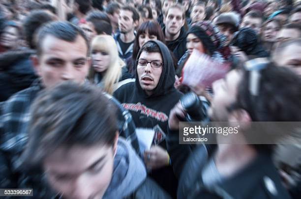 crowd - incidental people stock pictures, royalty-free photos & images