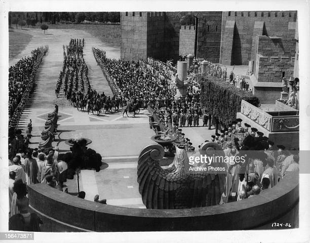 Crowd scene from the film 'BenHur A Tale Of The Christ' 1925