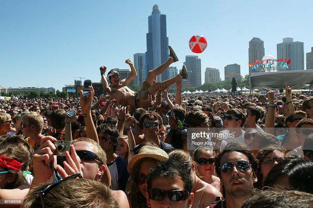 2008 Lollapalooza Music Festival - Day 2 : News Photo