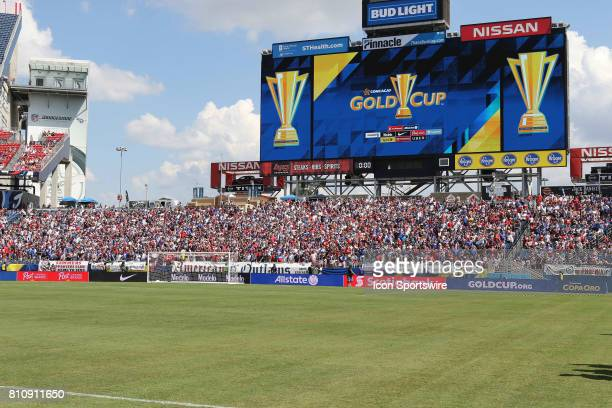 A crowd view before the group stage match of the CONCACAF Gold Cup between the United States and Panama on July 08 2017 The United States and Panama...