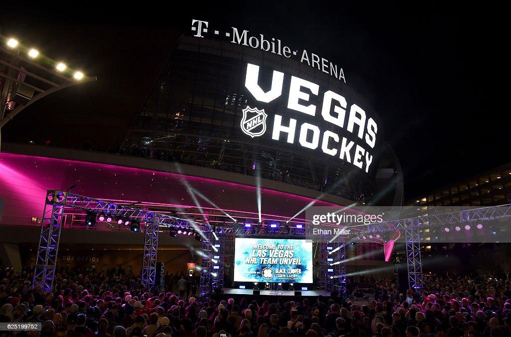 Las Vegas NHL Franchise Reveals Team Name And Logo : News Photo