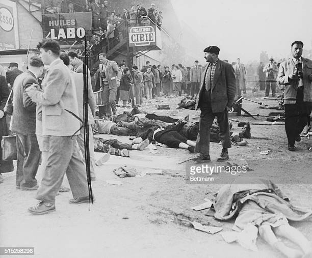 Crowd Walking Around Corpses of Spectators at Le Mans