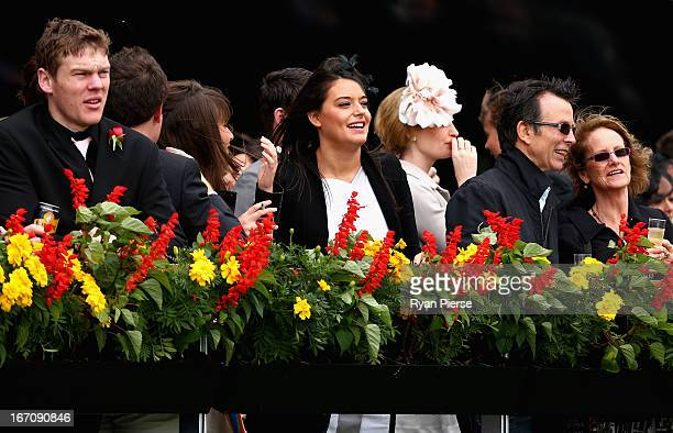 Crowd watch on during Doncaster Day at Royal Randwick Racecourse on April 20 2013 in Sydney Australia