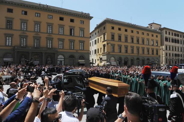 ITA: Franco Zeffirelli Funeral in Florence