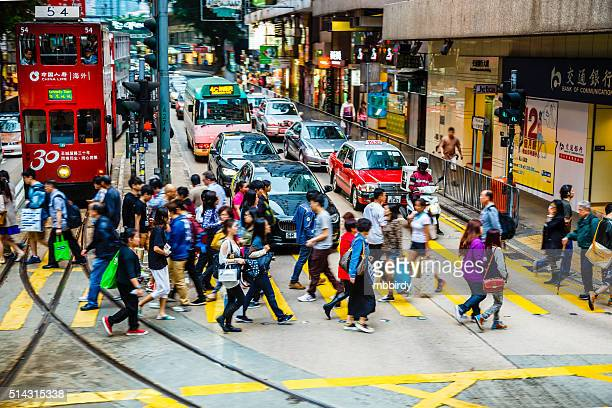 Crowded Hong Kong