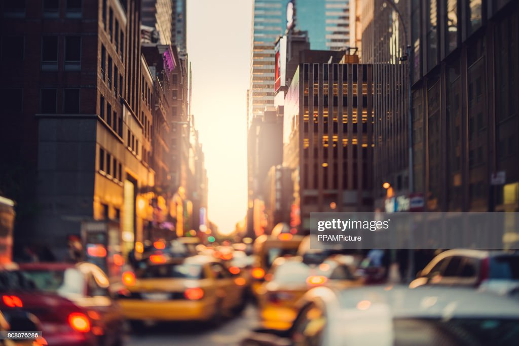 Crowded Manhattan : Stock Photo