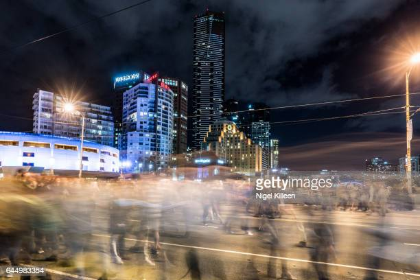 Crowded Melbourne