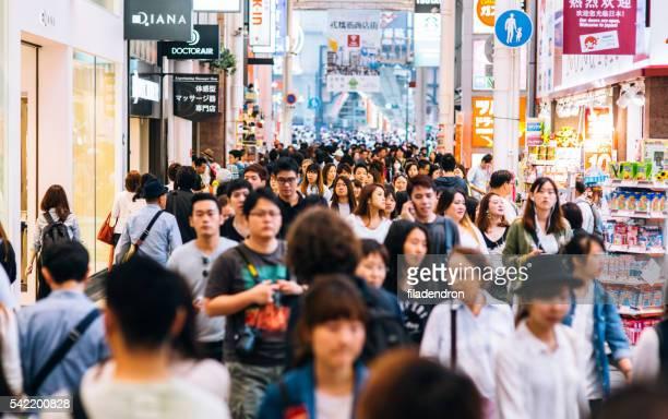 日本で混雑した道路