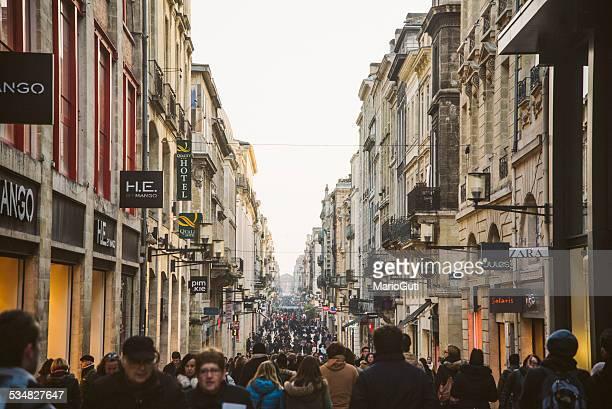 Überfüllten street