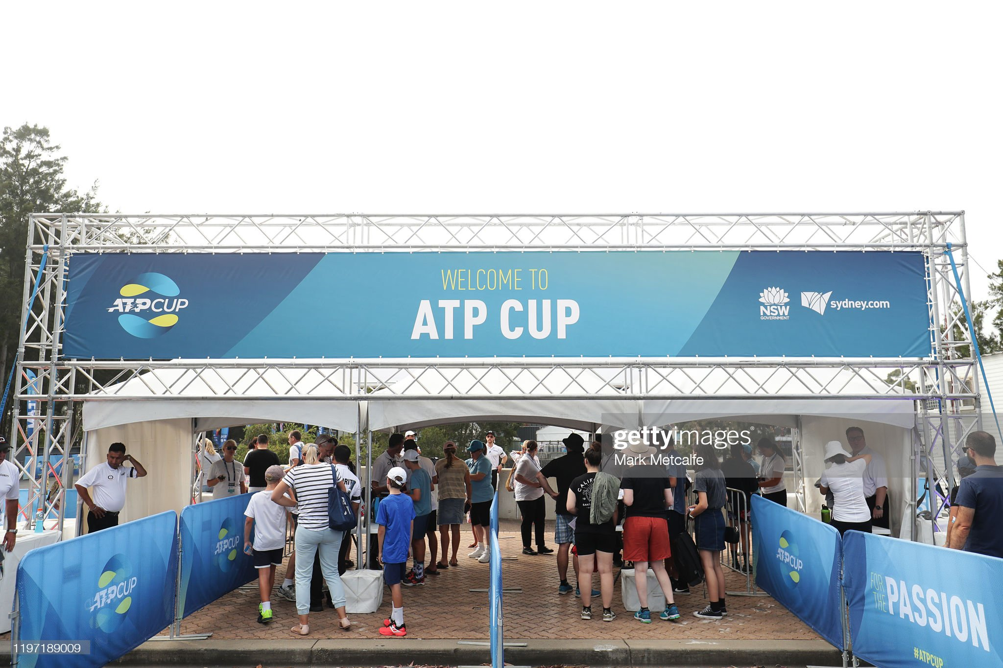 2020 ATP Cup - Sydney: Day 1 : News Photo