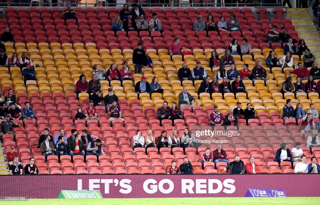 Super Rugby AU Rd 1 - Reds v Waratahs : News Photo