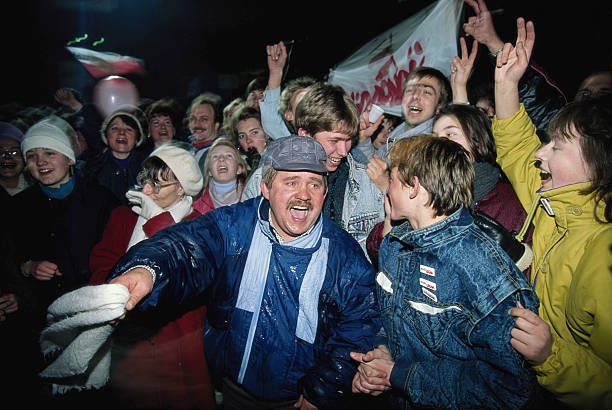 POL: 9th December 1990 - Lech Walesa Elected President Of Poland
