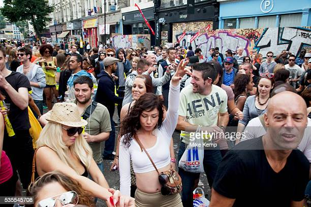 Crowds enjoying the sound systems at the Notting Hill Carnival in West London The Notting Hill Carnival is an annual event which since 1964 has taken...