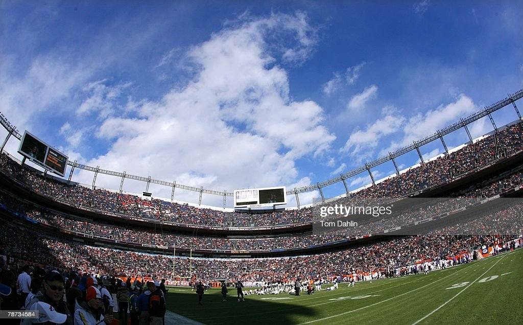 Crowds fill the stands at Invesco Field at Mile High just prior to an NFL game pitting the Minnesota Vikings against the Denver Broncos on December 30, 2007 in Denver, Colorado.