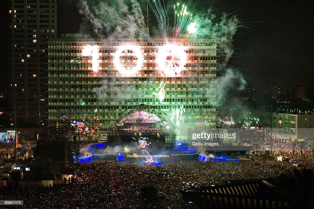 Tel Aviv Marks Centenary Celebrations In Rabin Square