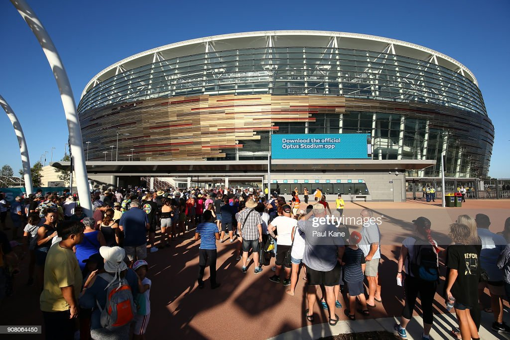Perth Public Get First Look At New Stadium During Community Open Day