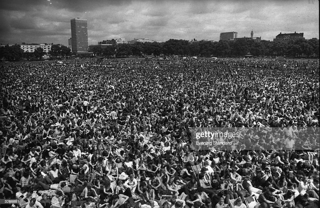 Hyde Park Concert : News Photo