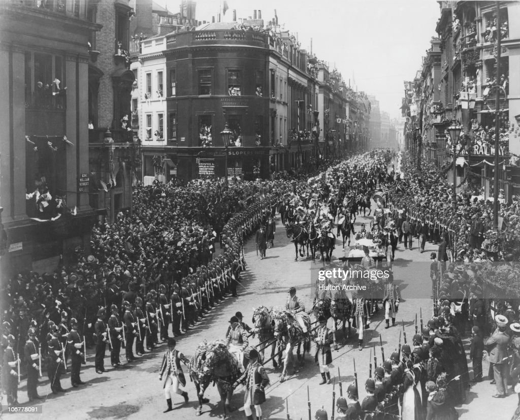 Photo of London, Queen Victoria At Her Diamond Jubilee