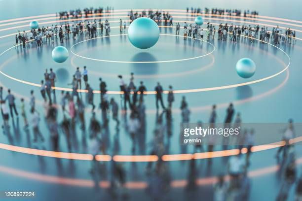 crowds of people conceptual image - sports target stock pictures, royalty-free photos & images