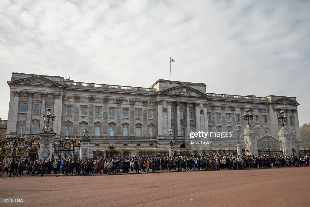 Buckingham Palace Set For £369 Million Refurbishment : News Photo