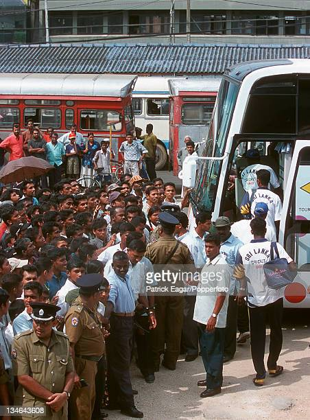 Crowds Sri Lanka v England 1st Test Galle Feb 01