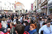 windsor england crowds wait for glimpse