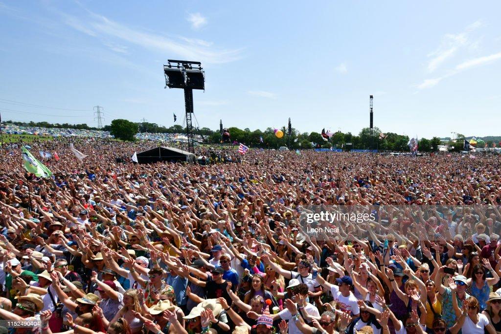 Glastonbury Festival 2019 - Day Three : News Photo