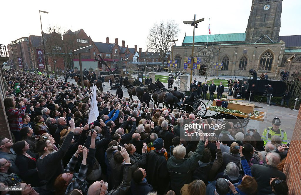 Leicester Sees The Reinterment Of The Remains Of King Richard III : News Photo
