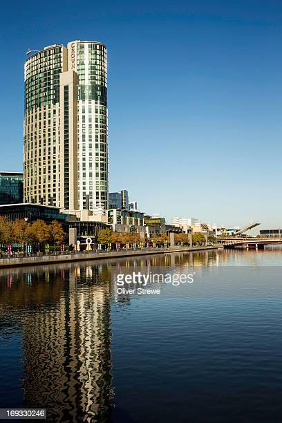 Crown Casino and Yarra River