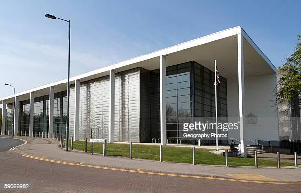 Crown Court building in central Ipswich Suffolk England UK