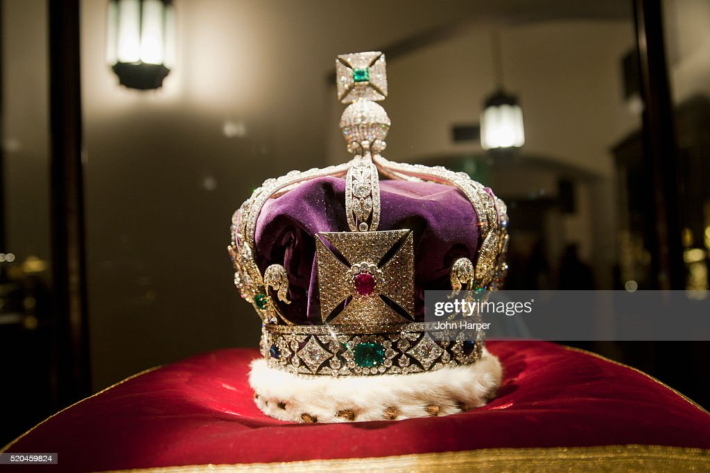Crown Jewels at Tower of London, London : Stock Photo