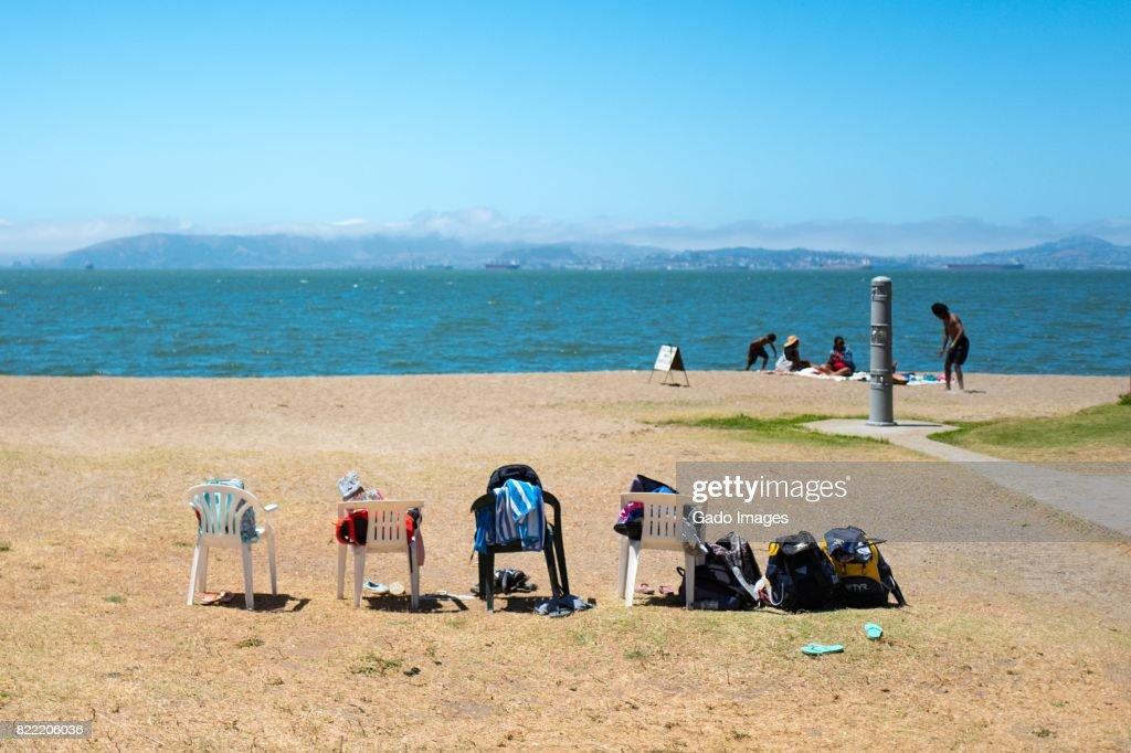 Crown Memorial State Beach : Stock Photo