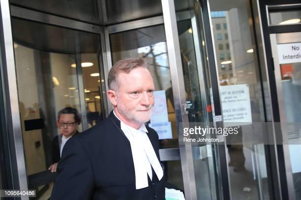 TORONTO ON Crown Michael Cantlon leaving sentencing for serial killer Bruce McArthur at 361 University Ave