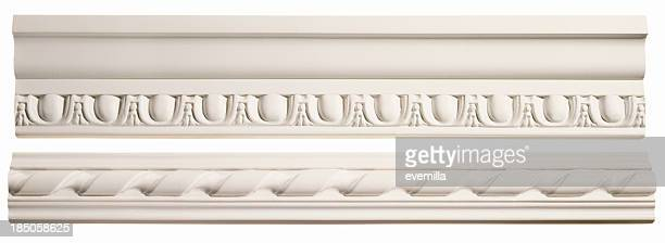 crown molding - crown molding stock photos and pictures