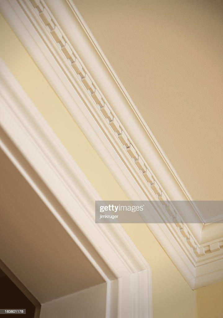 Crown moulding detail : Stock Photo