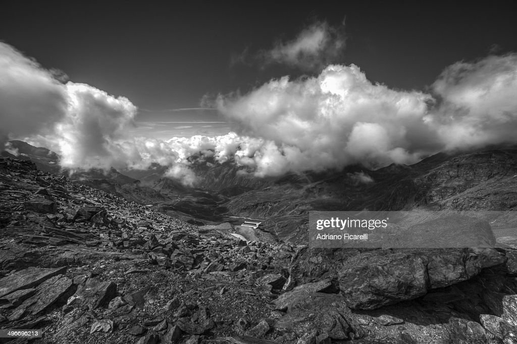 Crown of clouds : Foto stock