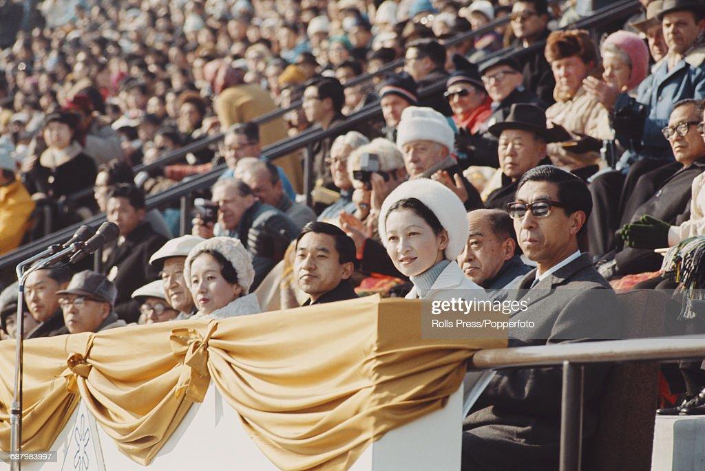 Crown Prince Akihito In Sapporo : ニュース写真