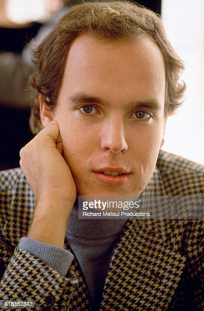 Crown Prince Albert of Monaco at the royal Grimaldi family's French villa Two months earlier Princess Grace formerly Grace Kelly the American actress...