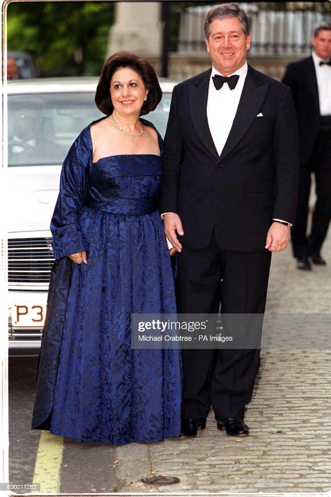 Greek Royal Ball/Yougslav royals : News Photo