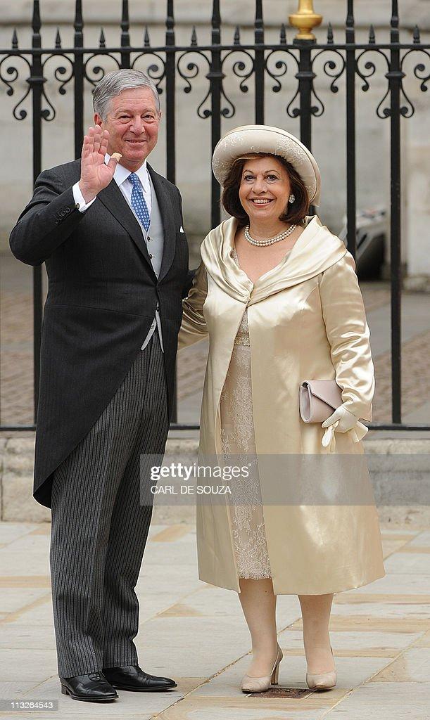 Crown Prince Alexander II of Serbia and : ニュース写真