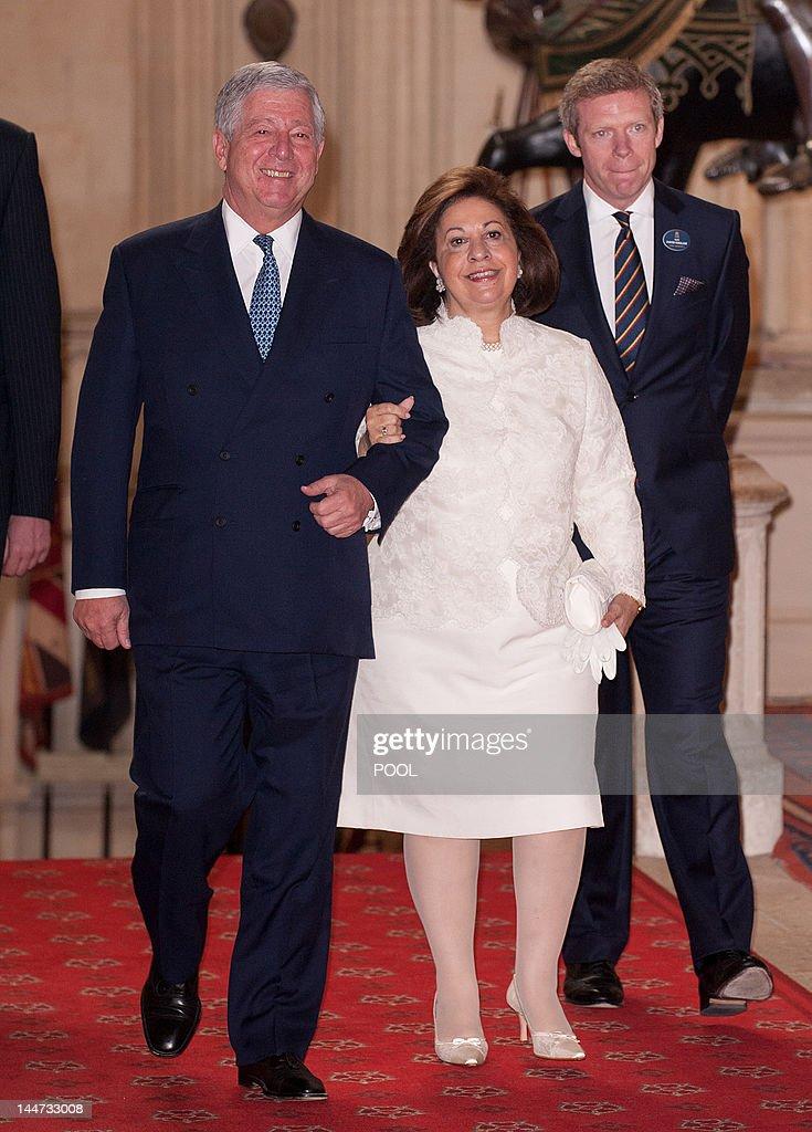 Crown Prince Alexander II (L) of Serbia  : News Photo