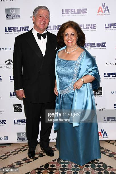 Crown Prince Alexander II of Serbia and HRH Crown Princess Katherine of Serbia attend The Princes Ball II A Masquerade Gala at Cipriani 42nd Street...