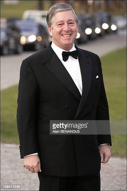 Crown Prince Alexander of Yugoslavia in Stockholm Sweden on April 29 2006